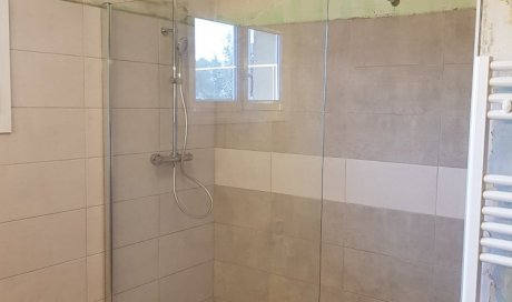 Création d'une douche à l'italienne à Aubenas